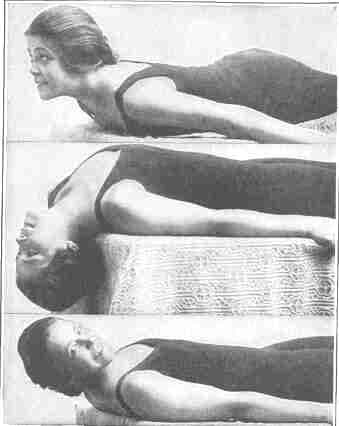 Free movement neck exercises